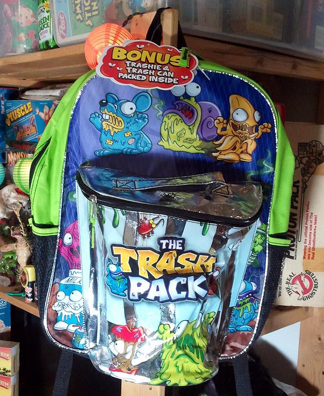 Trash Can Toys R Us : The trash pack schoolbag dinosaur dracula