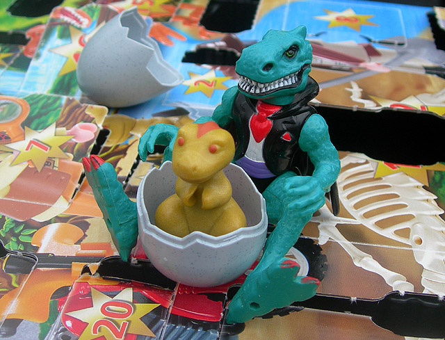 Dino Drac's Advent Calendar: 12/24/12.