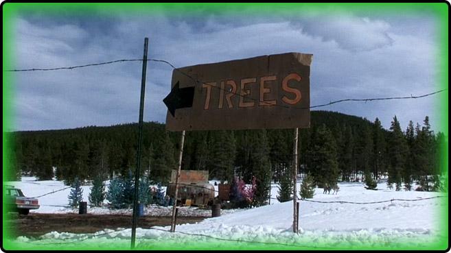 5 pink christmas trees - Christmas Vacation Tree