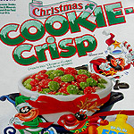 Christmas Cookie Crisp, from 1991!