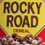 Unboxing Rocky Road Cereal, from 1986.