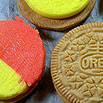 Candy Corn Oreo Cookies!