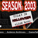 The ORIGINAL Halloween Countdown, from 2003.