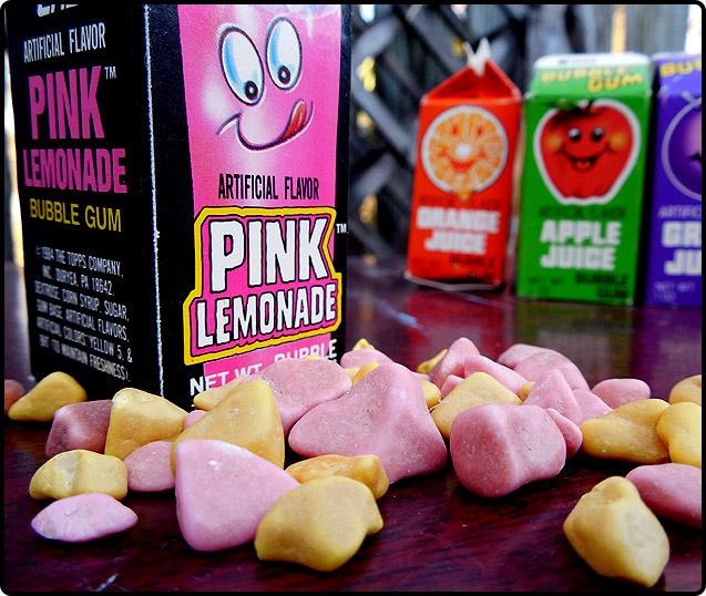 Topps Bubble Gum Juice Cartons!   Dinosaur Dracula!