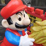 Nintendo Trophy Figures.