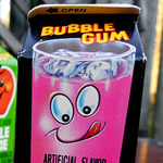 Topps Bubble Gum Juice Cartons!