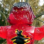 Lava Planet Predator Action Figure.