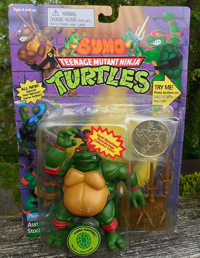 Ninja Turtles Sumo Raphael Figure Dinosaur Dracula