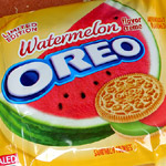 Watermelon Oreo Cookies!