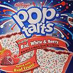 Red, White & Berry Pop-Tarts!