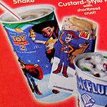 Random McDonald's Trayliners!