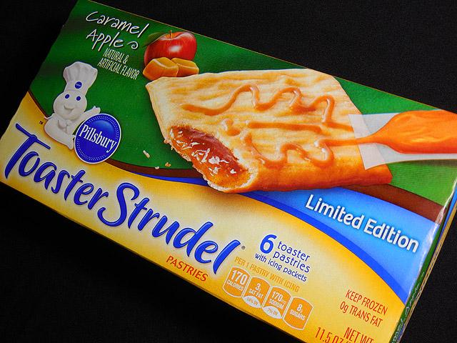Caramel Apple Toaster Strudel