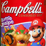 Campbell's Super Mario Soup!