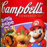 Campbell's Super Mario Soup!