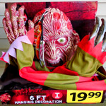 Six Foot Freddy Krueger Decoration!