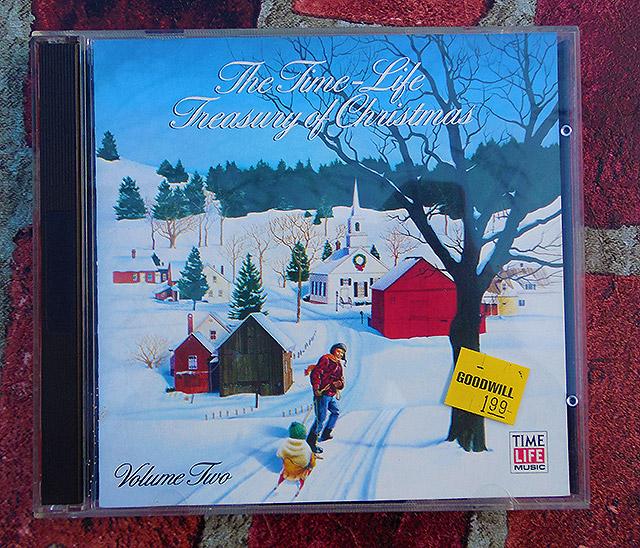 Time Life Treasury Of Christmas.Holiday Goodwill Goodies Dinosaur Dracula