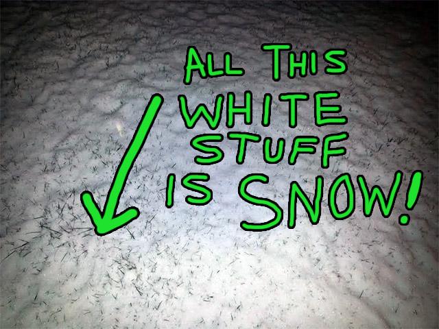 snowier