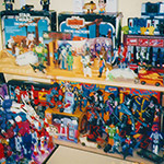 Toys I owned on 5/27/98.