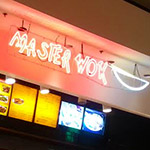 I bought dinner from Master Wok.