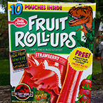 Jurassic Park Fruit Roll-Ups from 1997!