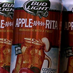 The Bud Light Lime APPLE-AHHH-RITA!