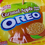 Caramel Apple Oreo Cookies!