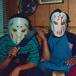 A Halloween photo from 1992.