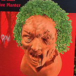 CHIA PET ZOMBIES. HOLY MARY.