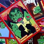 Win a set of Dinosaur Dracula trading cards!