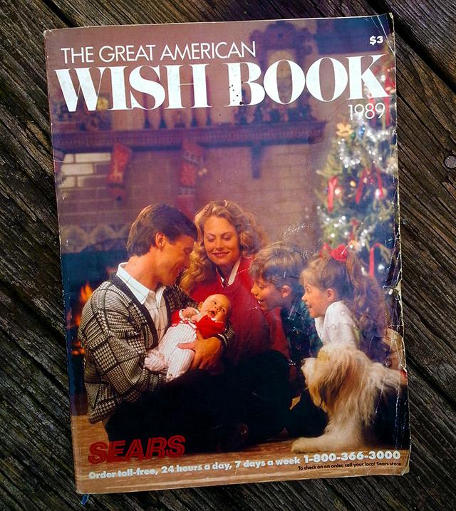 The 1989 Sears Wish Book!   Dinosaur Dracula!