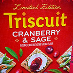 Cranberry & Sage Triscuit Crackers!