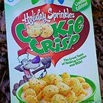 Holiday Sprinkles Cookie Crisp Cereal!
