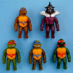 Weird TMNT toys from the late '90s!