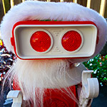 I have crazy love for Santa Robot.