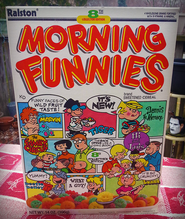 Five More Cereals From Beyond The Grave.