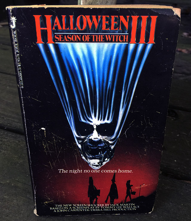 the movie isnt without its share of schlock and cheese but with the story being so gripping strange and haunting halloween iii is impossible to forget