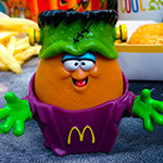 Halloween McNugget Buddies were SO GOOD.