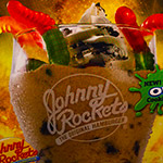 Goosebumps Shake at Johnny Rockets!