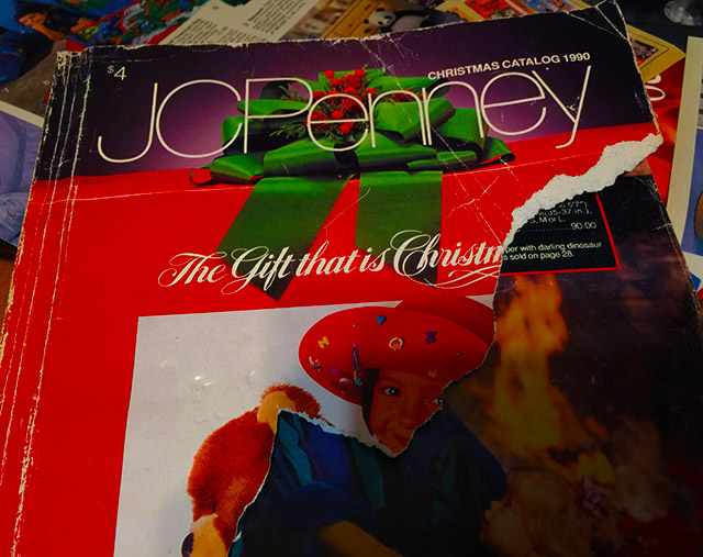 Christmas Catalogs.Toys From The 1990 Jcpenney Catalog Dinosaur Dracula