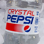 Crystal Pepsi is BACK, baby!