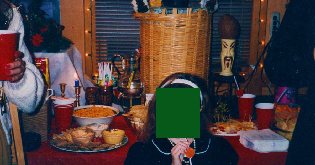 My 1993 Christmas Tiki Hut Dinosaur Dracula