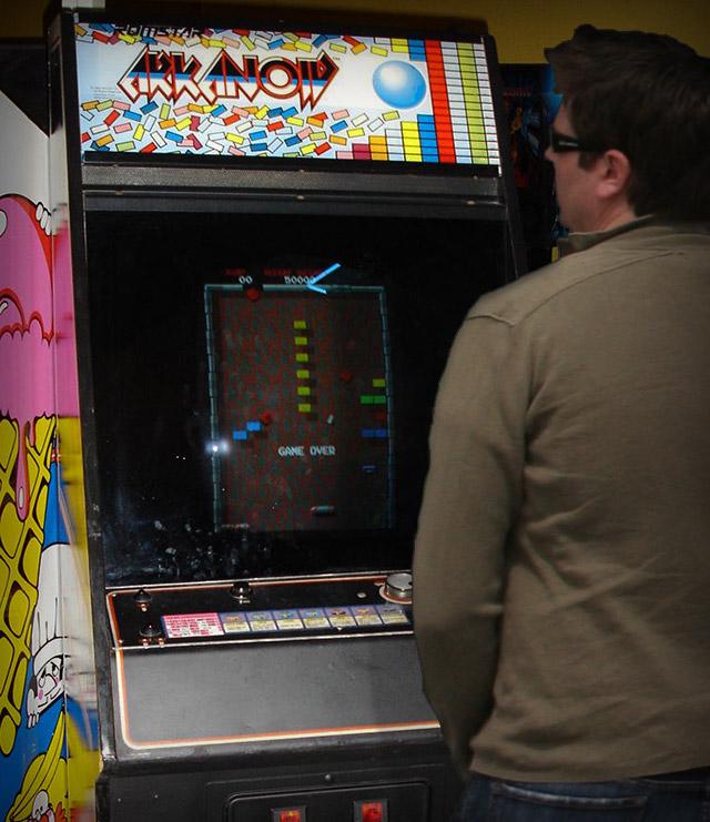 arcade-arkanoid