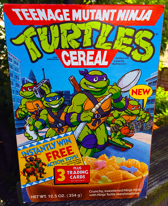More Ancient Cereal Boxes!
