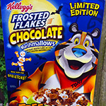 Halloween Frosted Flakes, Yes!