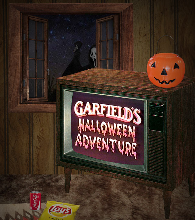 getting the 1985 version was extra special because that was the debut year of garfields halloween adventure october 30th at 8pm to be exact