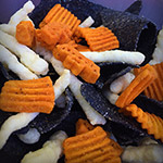 Halloween Garlic Doritos?! They're real!