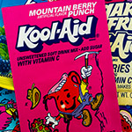 Vintage Mountain Berry Punch Kool-Aid!