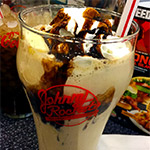 Kong Milkshakes at Johnny Rockets!