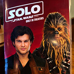 Star Wars Solo Menu at Denny's!