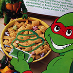 TMNT Cereal with HONEY OOZE, from 1991!